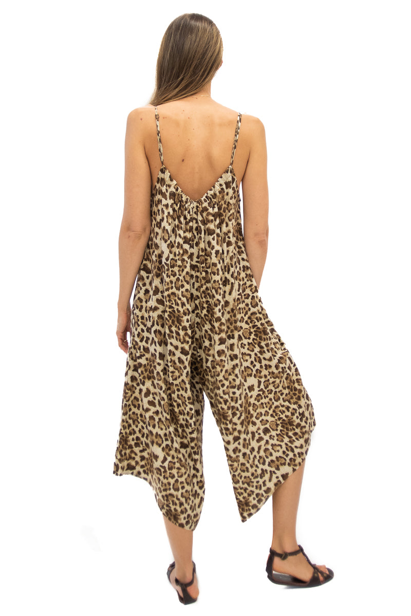 Sonoma Playsuit in Leopard