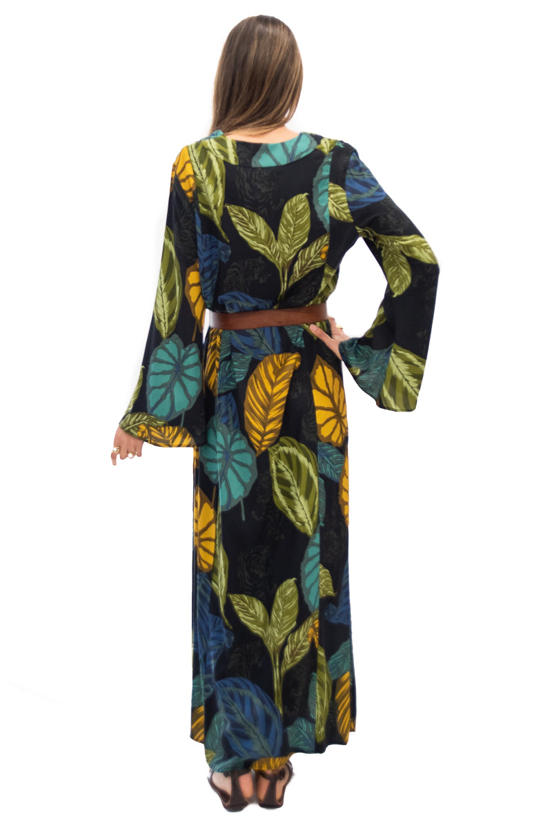 Seaside Kaftan in Live Wild