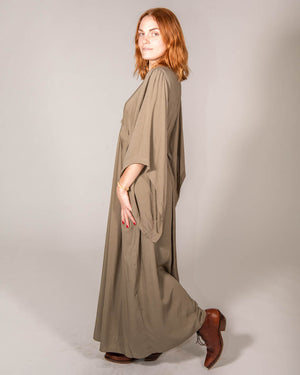 Wrap Me Up Dress in Olive