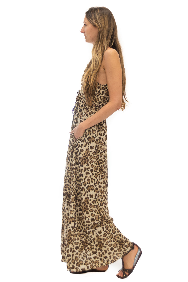 Capri Dress in Leopard