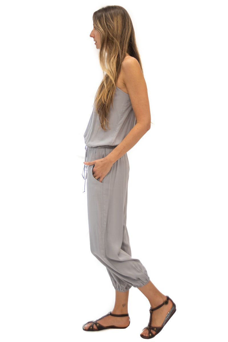 Claudette Jumpsuit in Mist