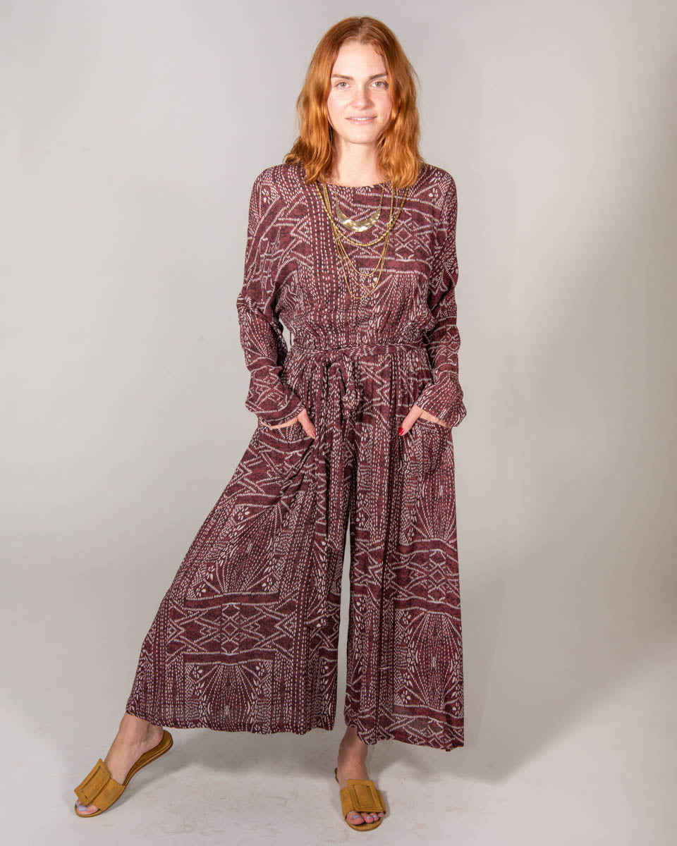 Adventure Jumpsuit in African Sunrise