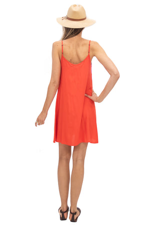 Perfect Dress in Tangerine