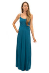 Capri Dress in Dark Emerald