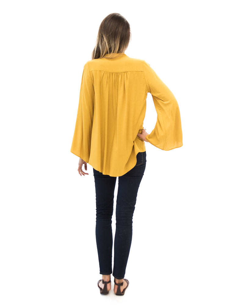 Fitzgerald Blouse in Citrine