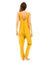 Shepherdess Playsuit in Citrine