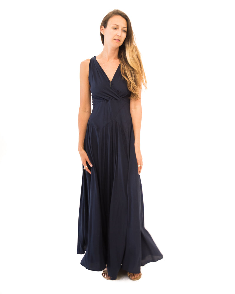 Gatsby Dress in Navy