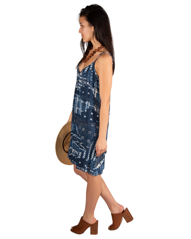 Perfect Dress in Indigo Seas