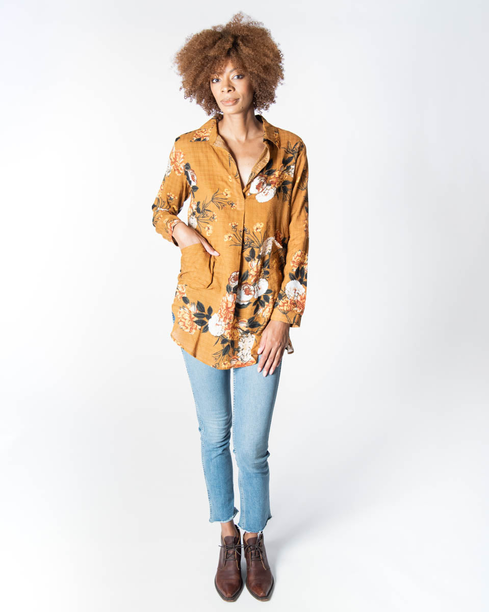 Tahoe Tunic in Desert Rose