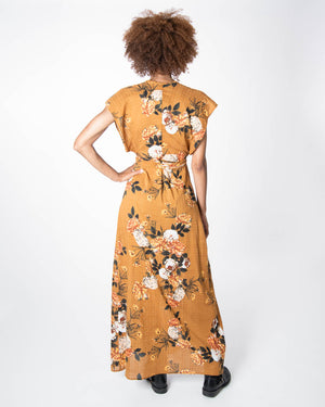 Garbo Dress in Desert Rose