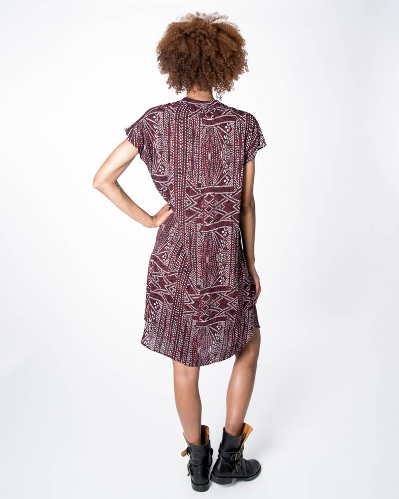Travel Dress in African Sunrise