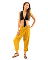 Wrap Pant in Citrine