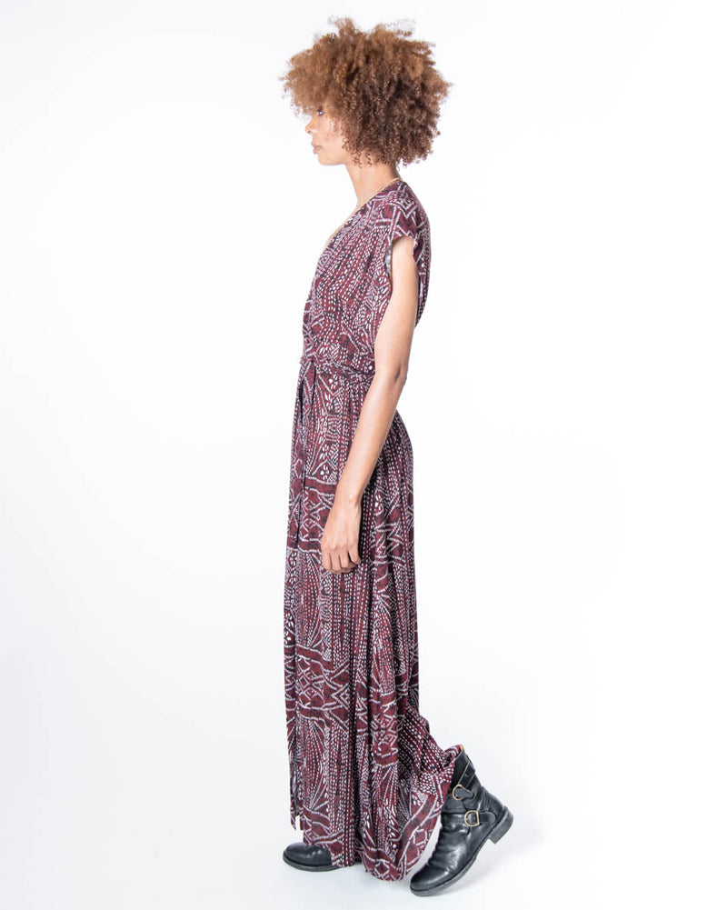 Garbo Dress in African Sunrise