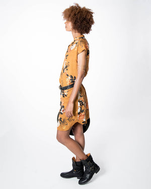Travel Dress in Desert Rose