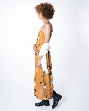 Long Perfect Dress in Desert Rose