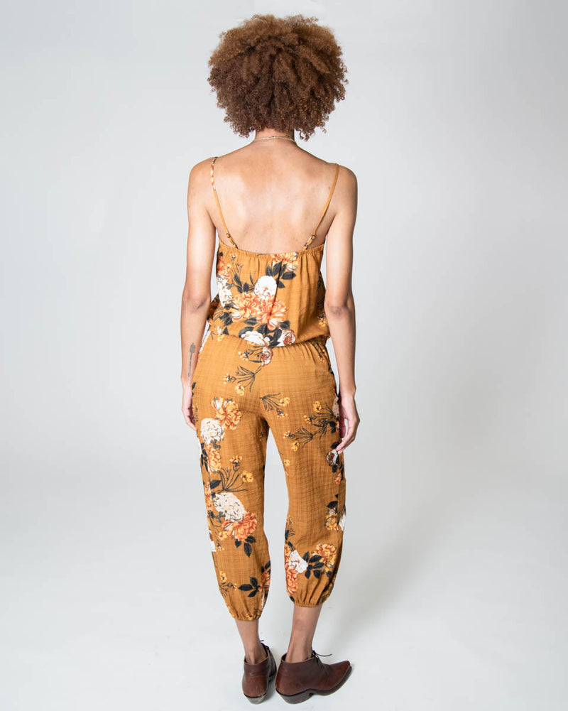 Claudette Jumpsuit in Desert Rose