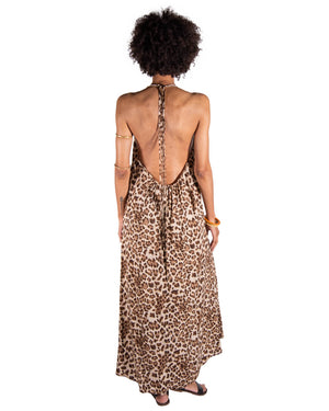 Wanderlust Dress in Leopard