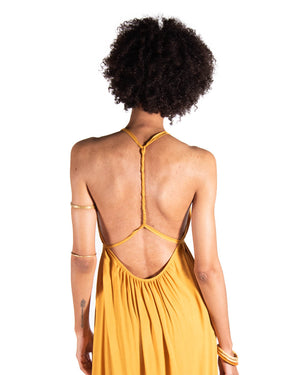 Wanderlust Dress In Citrine
