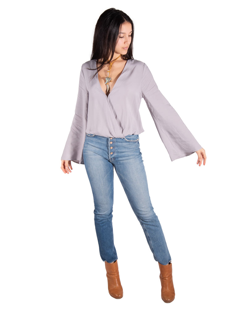 Flamenco Top in Mist