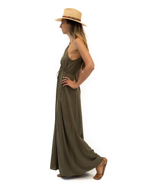 Capri Dress in Olive