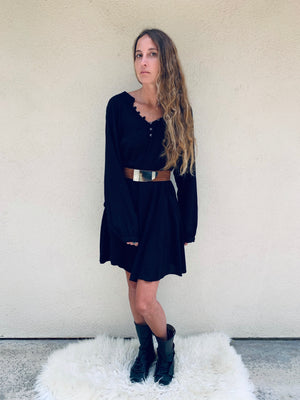 Nomad Mini Dress in Black