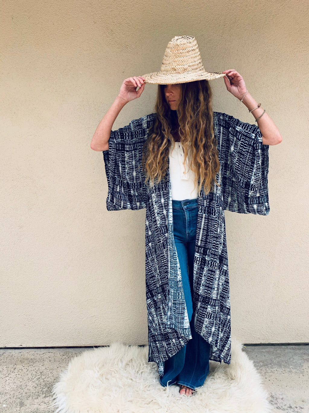 Byron Bay Kimono in Take Me Everywhere