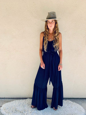Positano Jumpsuit in Navy