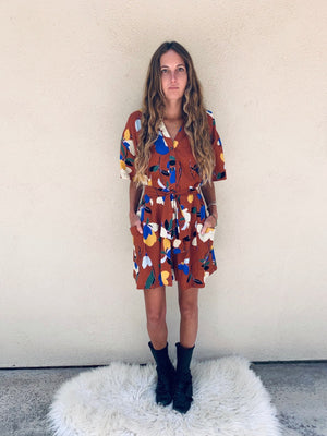 French Market Romper in Marrakech