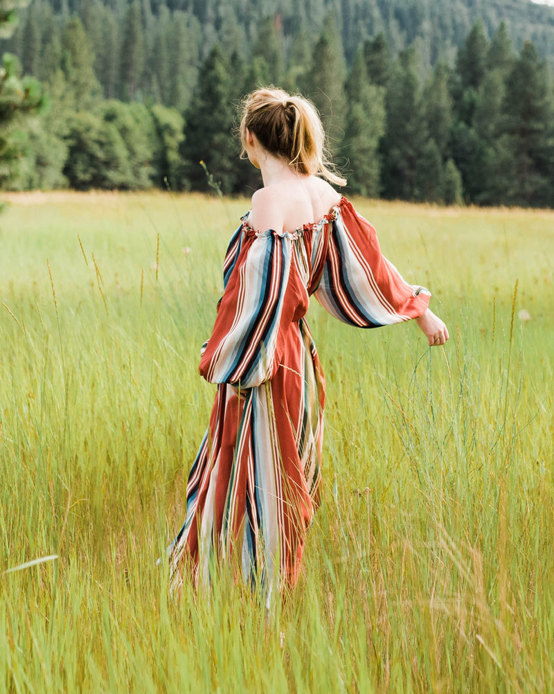 Time for Travel Dress in Riad Serape