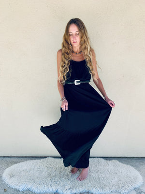 Positano Dress in Black