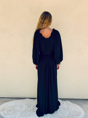 Time for Travel Dress in Black