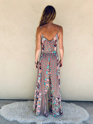Positano Jumpsuit in Palace