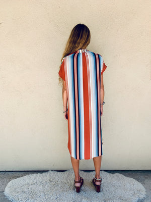 Travel Dress in Riad Serape