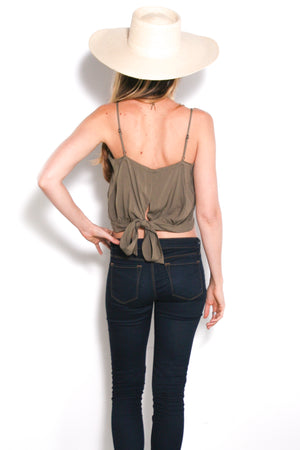Be Mine Top in Olive