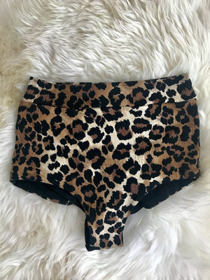 High Waisted Undies in Leopard