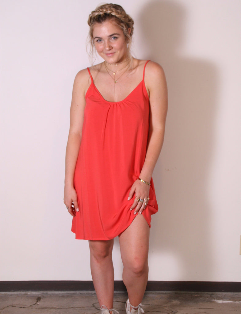 Perfect Dress In Coral Mist