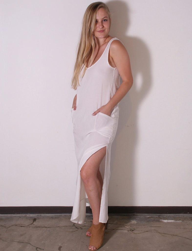 Everyday Dress in Off White