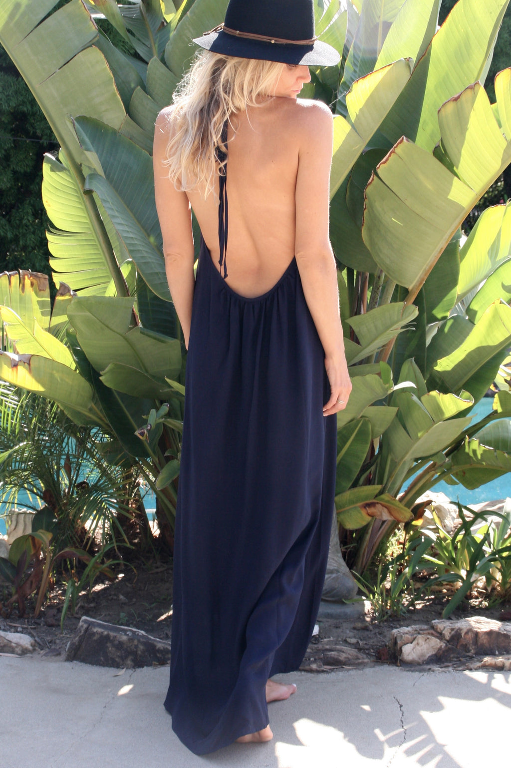 Wanderlust Dress In Navy