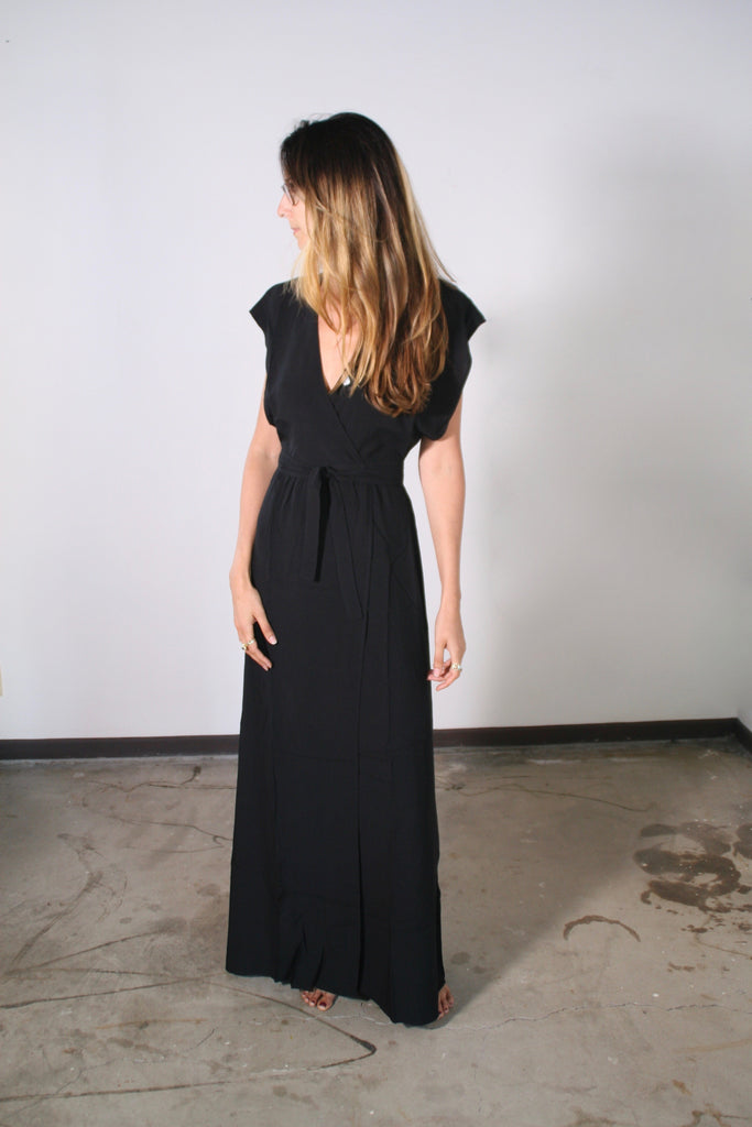 Garbo Dress in Black