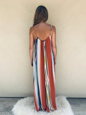 Tysa Playsuit in Riad Serape