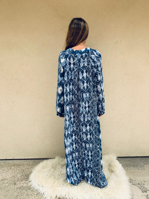 Nomad Dress in Blue Lagoon- LIMITED STOCK