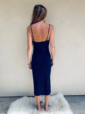 Deer Creek Midi in Navy