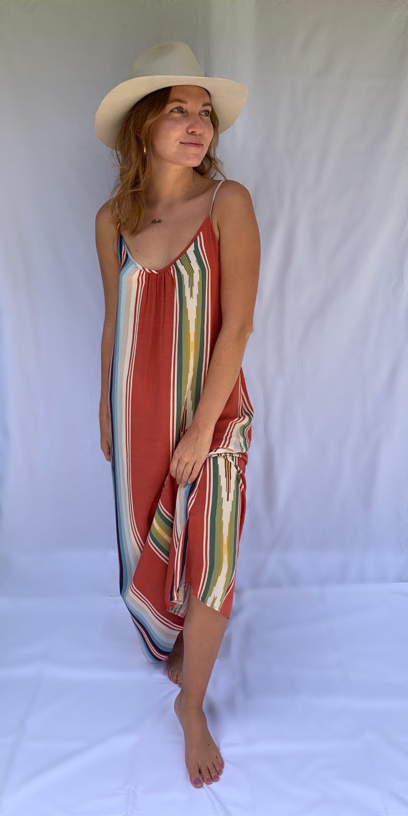 Long Perfect Dress in Riad Serape