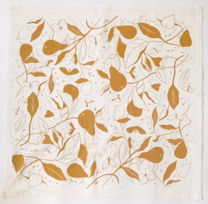 Pears Tea Towel by Elana Gabrielle
