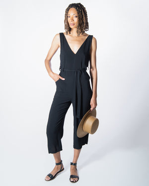 Riviera Jumpsuit in Black