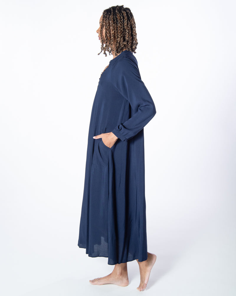 Nomad Dress in Navy