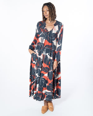 Nomad Dress in Black Beauty