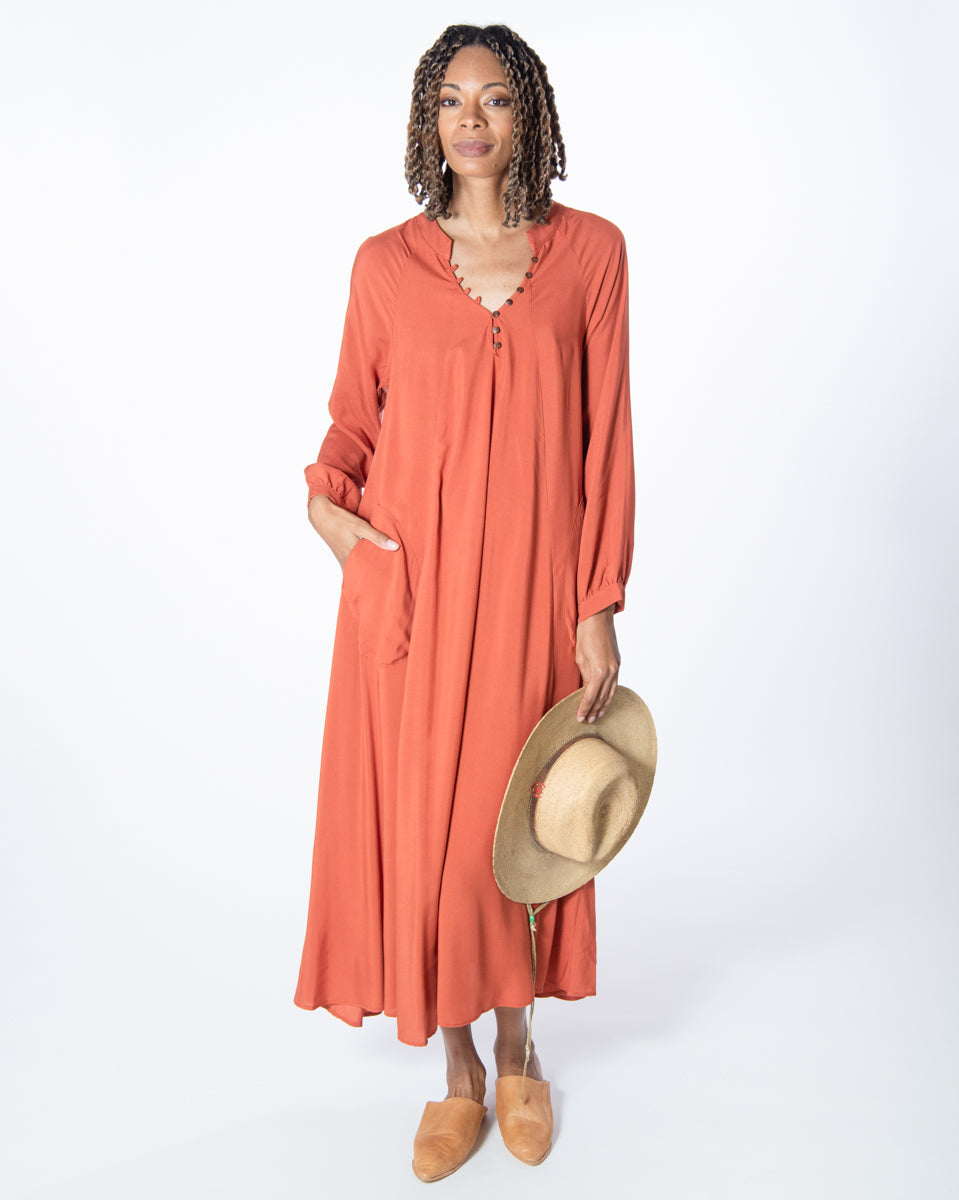 Nomad Dress in Riad