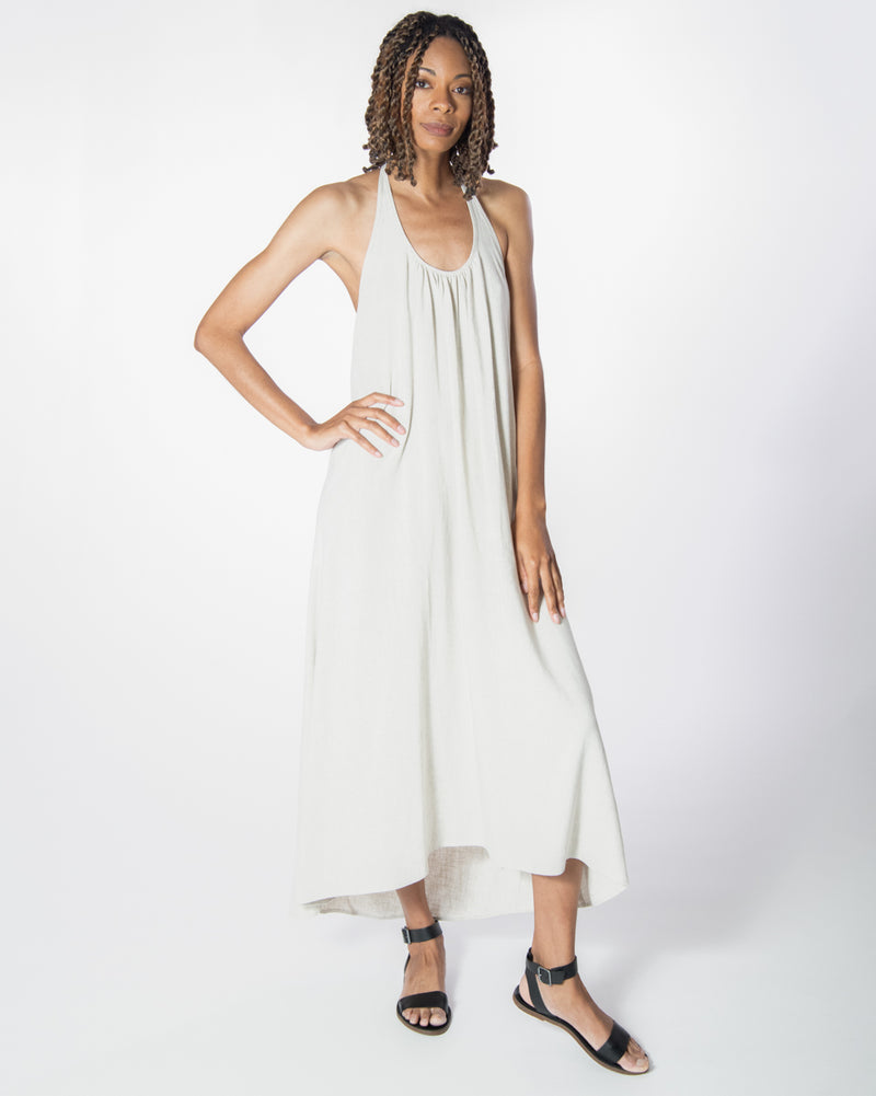 Wanderlust Dress in Natural Linen