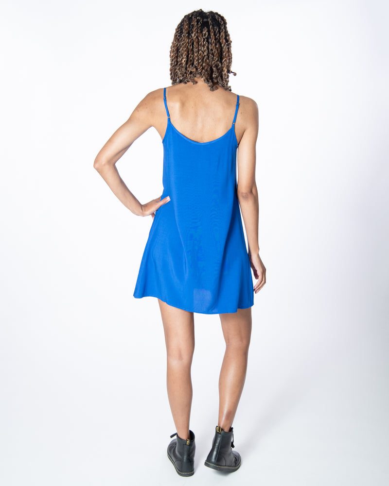 Perfect Dress In Majorelle Blue